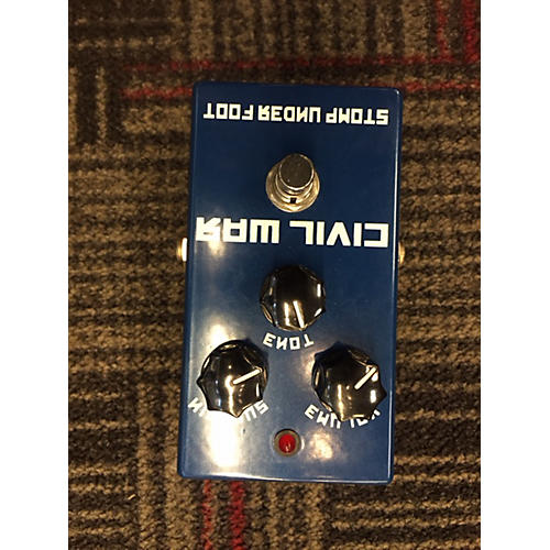 Stomp Under Foot Civil War Effect Pedal