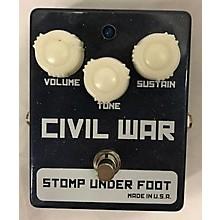 Stomp Under Foot Civil War Effect Pedal