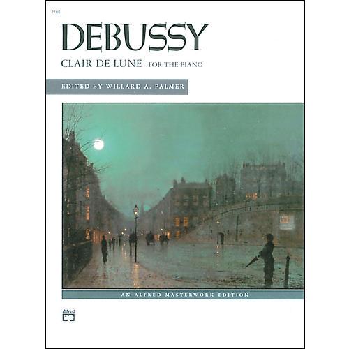 Alfred Clair de lune (from Suite Bergamasque) Piano Solo Book