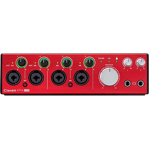Focusrite Clarett 4Pre USB Audio Interface