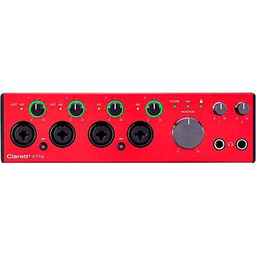 Focusrite Clarett+ 4Pre USB Audio Interface