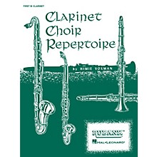 Rubank Publications Clarinet Choir Repertoire (Alto Clarinet Part) Ensemble Collection Series Composed by Various