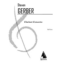Lauren Keiser Music Publishing Clarinet Concerto LKM Music Series Composed by Steven Gerber