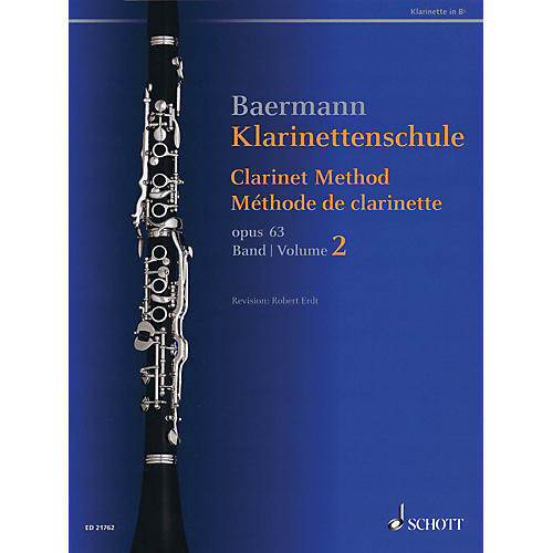 Schott Clarinet Method, Op. 63 (Volume 2, Nos. 34-52 - Revised Edition) Woodwind Method Series Softcover