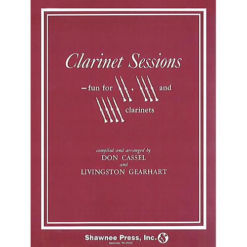 Hal Leonard Clarinet Sessions 2-4 Clarinets Clarinet
