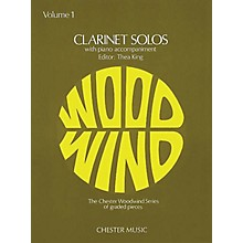 Chester Music Clarinet Solos - Volume 1 (with Piano Accompaniment) Music Sales America Series