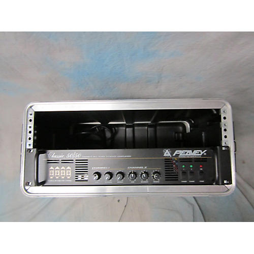 used peavey classic 50 50 stereo head guitar power amp guitar center. Black Bedroom Furniture Sets. Home Design Ideas
