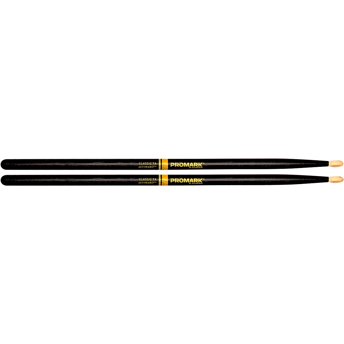Promark Classic ActiveGrip Drum Sticks, Black