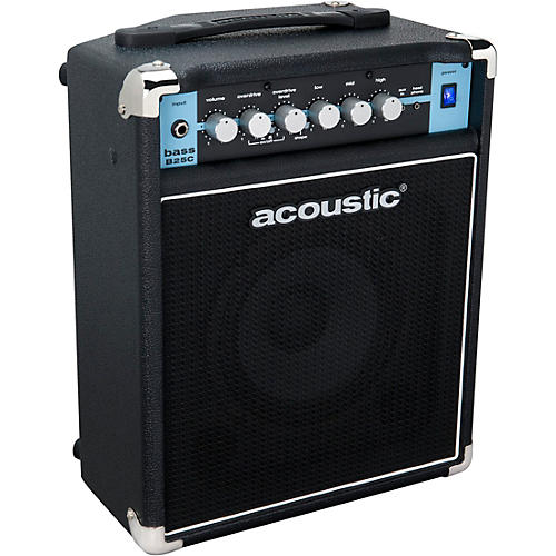 Acoustic Classic B25C 1X8 25W Bass Combo with Tilt-Back Cab