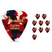 Classic Celluloid Confetti Guitar Pick 12-Pack Extra Heavy 12 Pack