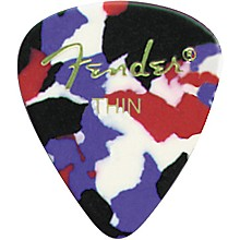 Classic Celluloid Confetti Guitar Pick 12-Pack Medium 1 Dozen