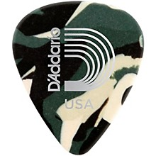 Classic Celluloid Guitar Picks - 12-Pack Medium Camouflage
