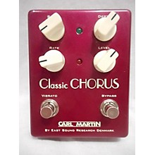 Carl Martin Classic Chorus Version II Effect Pedal