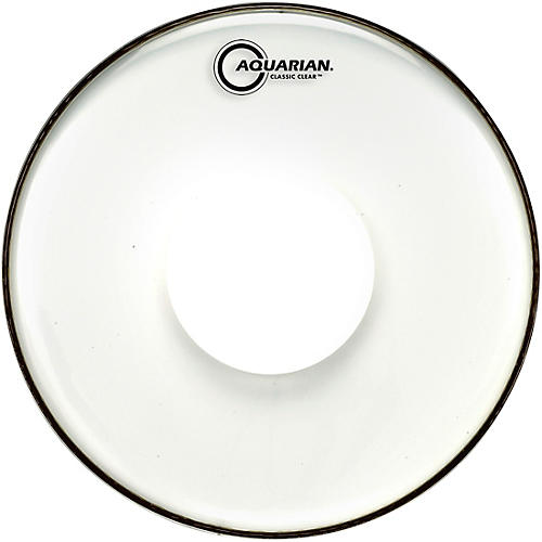 Aquarian Classic Clear With Power Dot Snare Drum Head