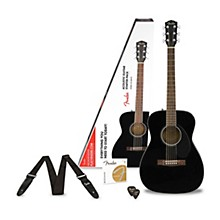 Fender Classic Design Series CC-60S Concert Acoustic Guitar Pack