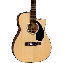 Classic Design Series CC-60SCE Cutaway Concert Acoustic-Electric Guitar Natural