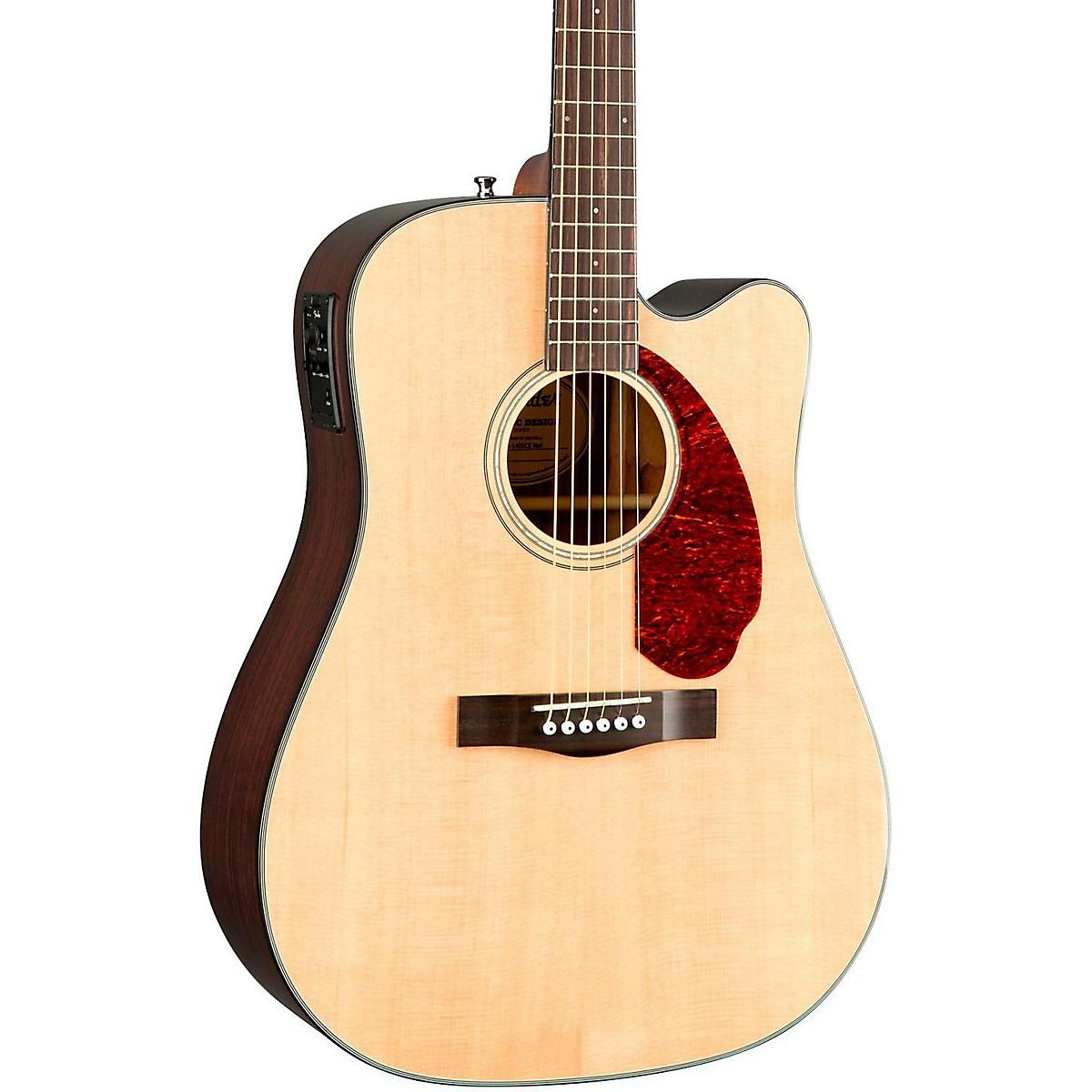 Fender Classic Design Series CD-140SCE Cutaway Dreadnought Acoustic-Electric Guitar