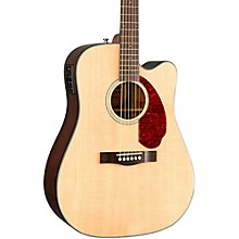 Classic Design Series CD-140SCE Cutaway Dreadnought Acoustic-Electric Guitar Natural