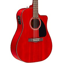 Fender Classic Design Series CD-140SCE Mahogany Cutaway Dreadnought Acoustic-Electric Guitar
