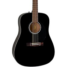 Classic Design Series CD-60S Dreadnought Acoustic Guitar Black