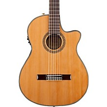 Fender Classic Design Series CN-240SCE Cutaway Thinline Classical Acoustic-Electric Guitar