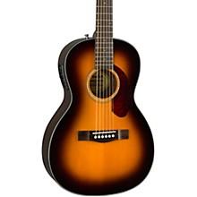 Classic Design Series CP-140SE Parlor Acoustic-Electric Guitar Level 2 Sunburst 190839737816