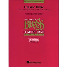 Canadian Brass Classic Duke (Canadian Brass) Concert Band Level 4 by Duke Ellington Arranged by Paul Murtha