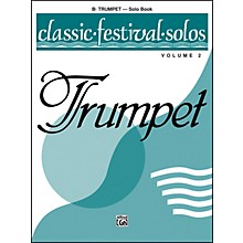 Alfred Classic Festival Solos (B-Flat Trumpet) Volume 2 Solo Book