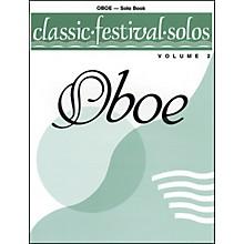 Alfred Classic Festival Solos (Oboe) Volume 2 Solo Book