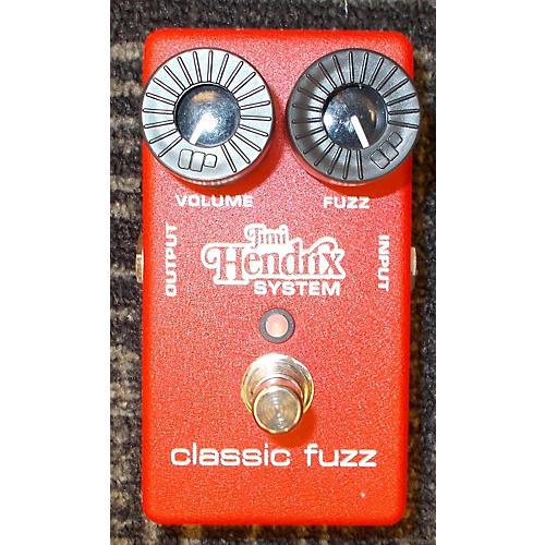 Jimi Hendrix Classic Fuzz Effect Pedal