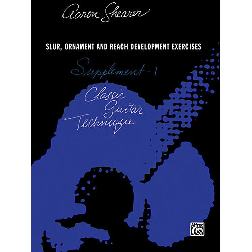 Alfred Classic Guitar Technique Supplement 1 Book