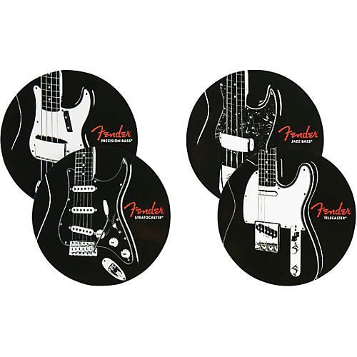 Fender Classic Guitars Coasters