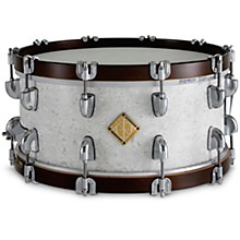 Classic Hybrid Maple Wood Hoop Snare Drum 14 x 6.5 in. Sub Zero White