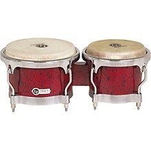 Classic II Bongos with Chrome Hardware Red Lava
