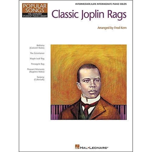 Hal Leonard Classic Joplin Rags Level 5 Intermediate/Late Intermediate Hal Leonard Student Piano Library by Fred Kern