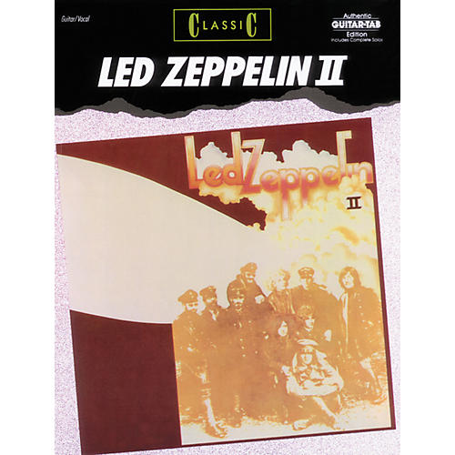 Alfred Classic Led Zeppelin II Guitar Tab Book