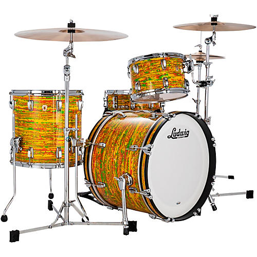 Ludwig Classic Maple 3-Piece Downbeat Shell Pack with 20 in. Bass Drum
