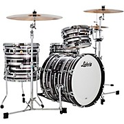 Classic Maple 3-Piece Downbeat Shell Pack with 20 in. Bass Drum Digital Sparkle