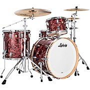 Classic Maple 3 Piece Fab Shell Pack with 22 in. Bass Drum Burgundy Pearl
