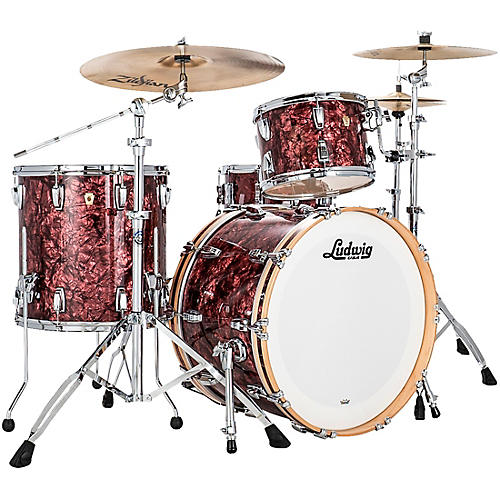 Ludwig Classic Maple 3 Piece Fab Shell Pack with 22 in. Bass Drum