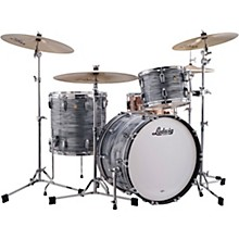 Classic Maple 3-Piece Fab Shell Pack with 22 in. Bass Drum Level 1 Vintage Blue Oyster