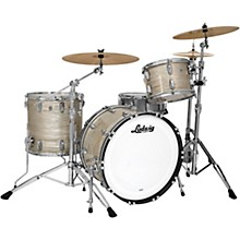 Classic Maple 3-Piece Fab Shell Pack with 22 in. Bass Drum Olive Oyster