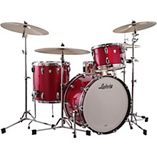 Classic Maple 3-Piece Fab Shell Pack with 22 in. Bass Drum Red Sparkle