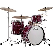 Classic Maple 3-Piece Fab Shell Pack with 22 in. Bass Drum Ruby Strata