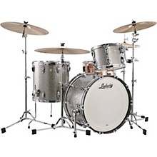 Classic Maple 3-Piece Fab Shell Pack with 22 in. Bass Drum Titanium Glitter