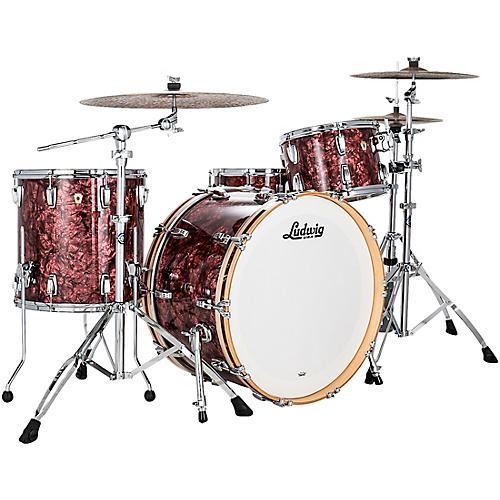 Ludwig Classic Maple 3 Piece Pro Beat Shell Pack with 24 in. Bass Drum