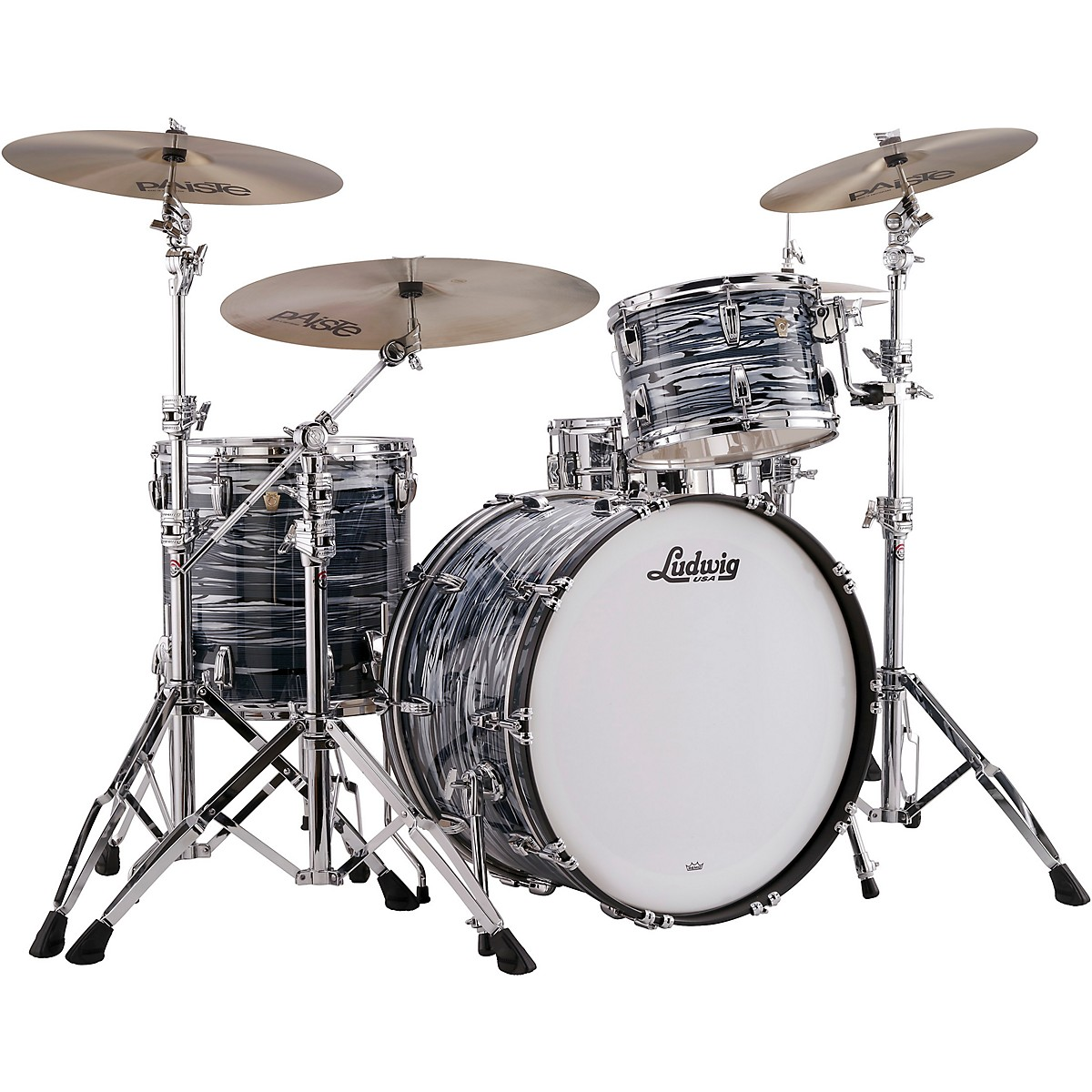 Ludwig Classic Maple 3-Piece Pro Beat Shell Pack with 24 in. Bass Drum