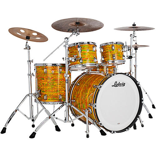 Ludwig Classic Maple 4-Piece Mod Shell Pack with 22 in. Bass Drum