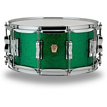 Classic Maple Snare Drum 14 x 6.5 in. Green Sparkle