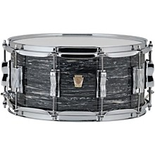 Classic Maple Snare Drum 14 x 6.5 in. Vintage Black Oyster Pearl